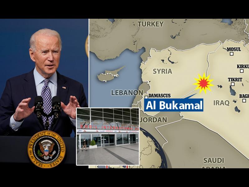 САЩ нанесоха въздушни удари срещу ирански военен обект в Сирия