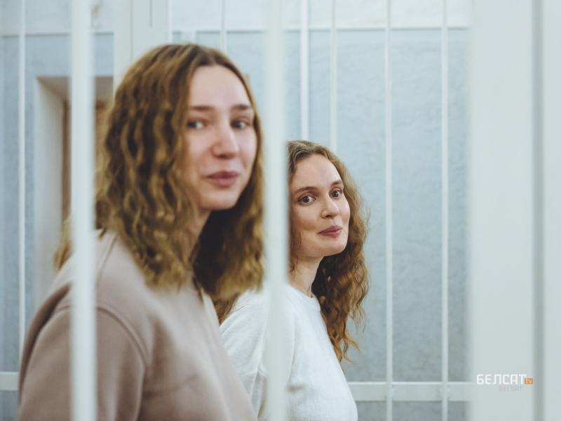 Две журналистки отиват в затвора, защото отразявали протест срещу Лукашенко