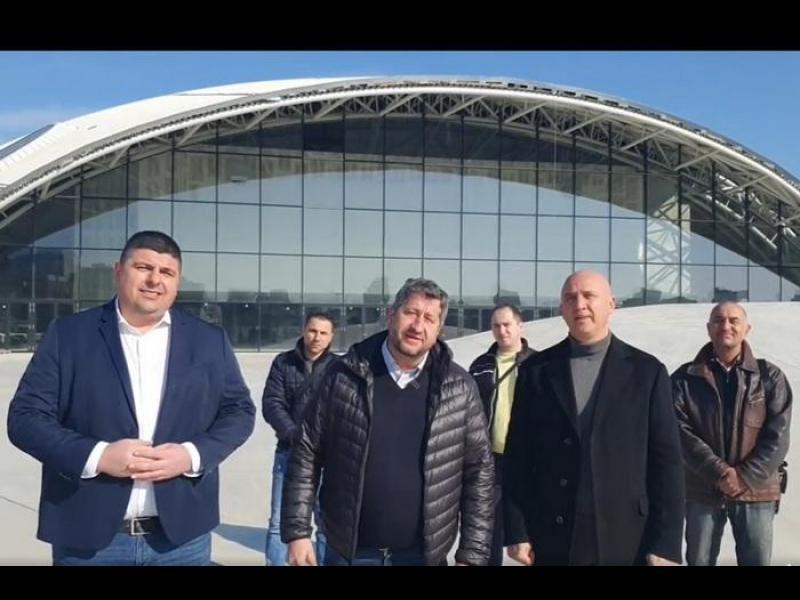 "Христо Иванов: ""Арена Бургас"" е корупционното бижу на Борисов"