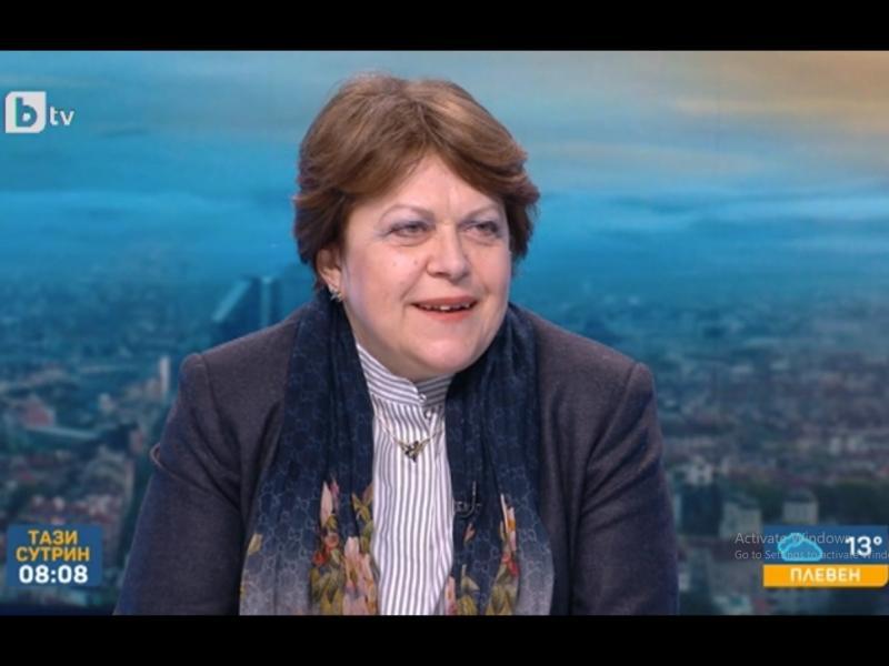 Татяна Дончева: Партията на Слави Трифонов не е показала желание да състави кабинет