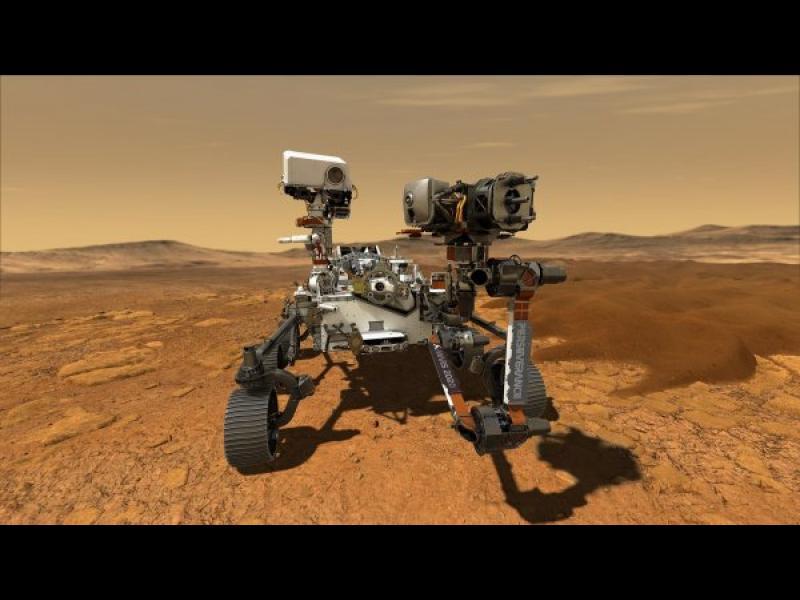 НАСА произведе кислород на Марс