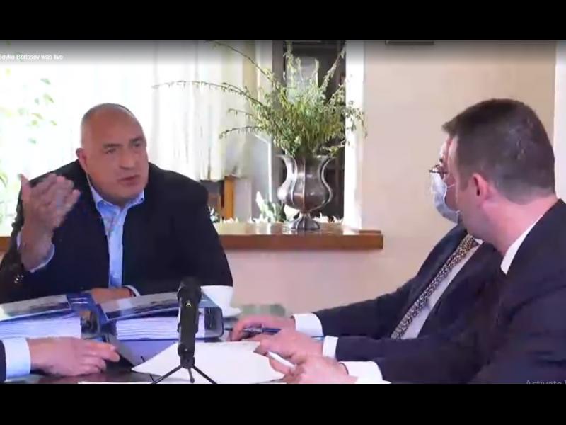 Борисов: Слави Трифонов иска пълно мнозинство. Царят и Тодор Живков нямаха такова