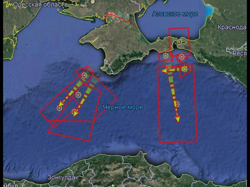 Русия затваря небето над части от Черно море