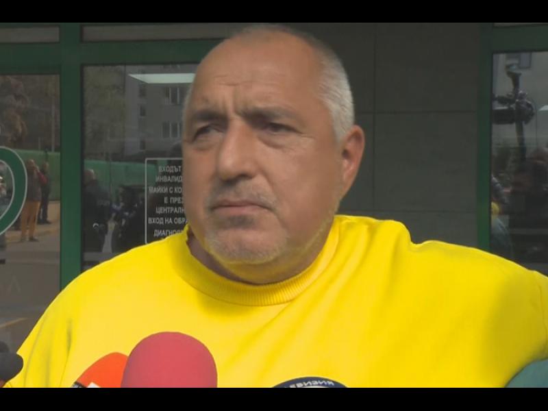 Борисов: При служебно правителство се кандидатирам за президент