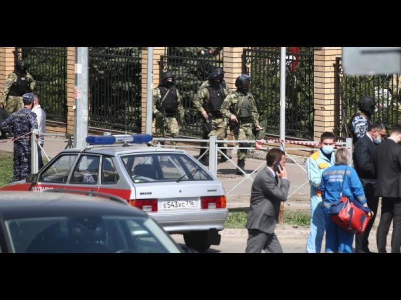 7 деца и учителка загинаха при нападение на училище в град Казан