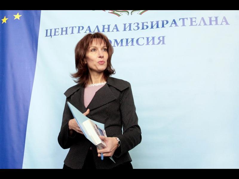 """""""Има такъв народ"""" предложи  Камелия Нейкова за председател на ЦИК"""