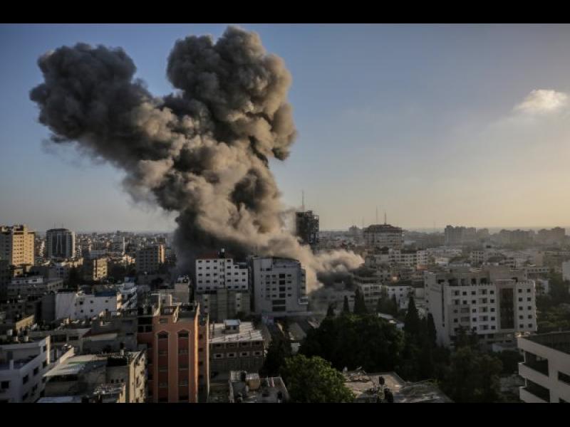 """""""Хамас"""" отново удари Израел с ракети"""