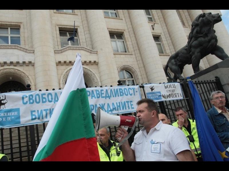 БОЕЦ обяви блокада на Съдебната палата, няма да пускат Иван Гешев в нея