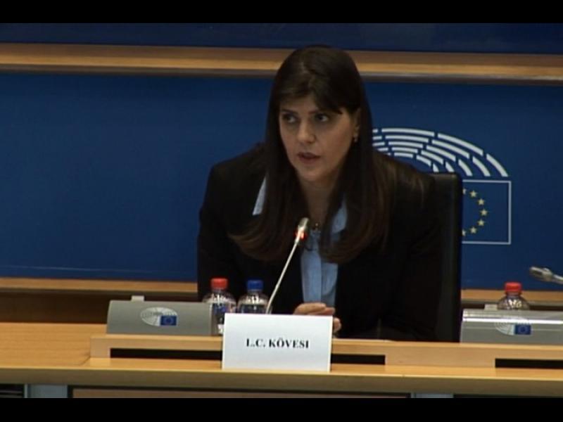 Европейският главен прокурор Лаура Кьовеши пристига утре, в разгара на протестите срещу Гешев