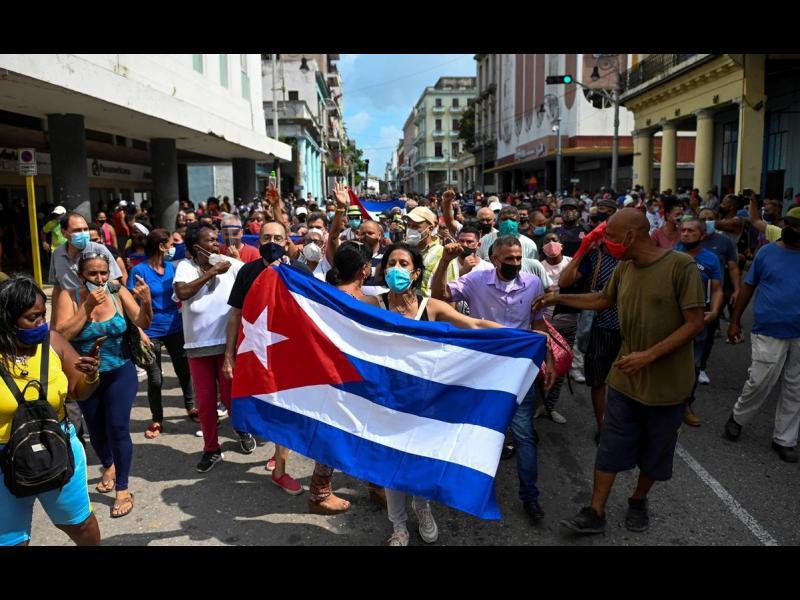 Сблъсъците в Куба взеха първа жертва