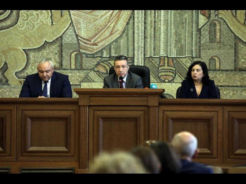 Правосъдното министерство даде случайното разпределение на делата на Инспектората