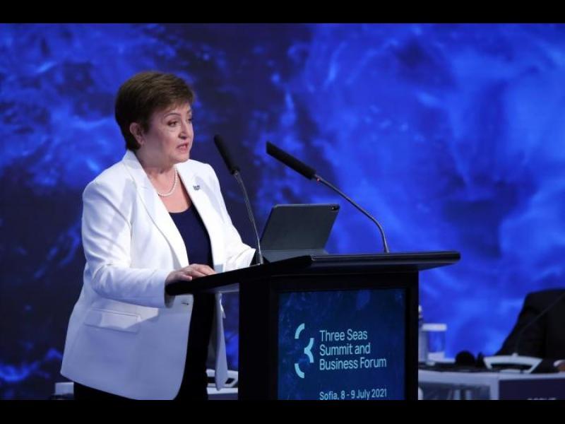 Кристалина Георгиева: Ваксинирането е икономическа политика