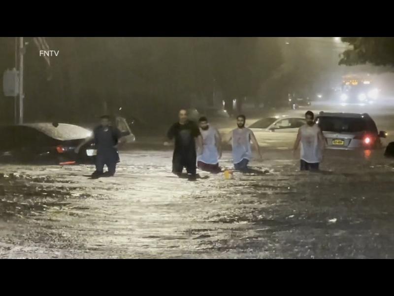 "Ню Йорк под вода след урагана ""Айда"" (СНИМКИ+ВИДЕО)"
