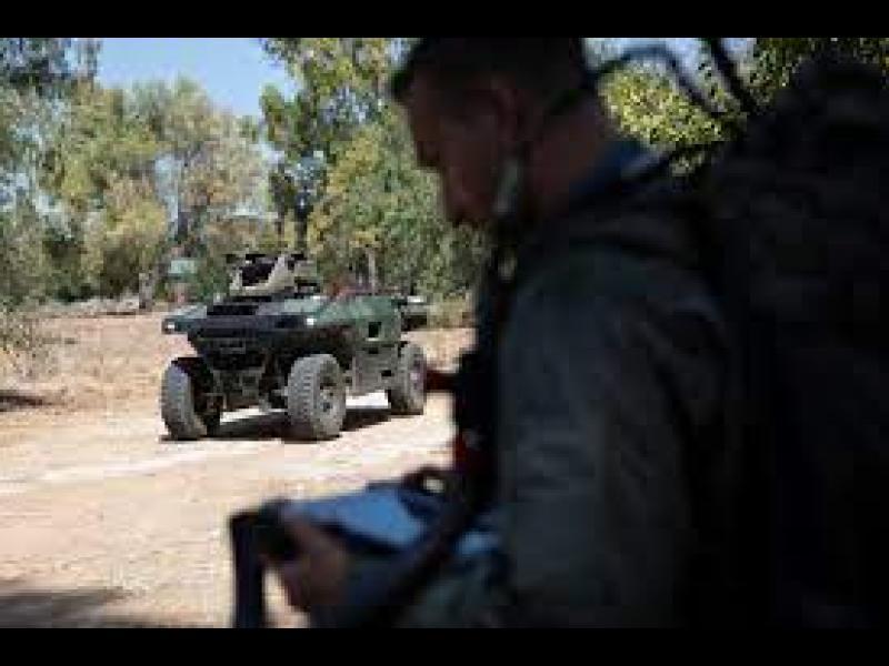 Израелски въоръжен робот ще патрулира в бойни зони в региона