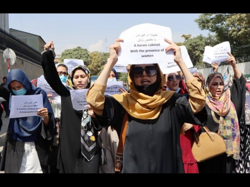 Талибаните забраниха провеждането на протести