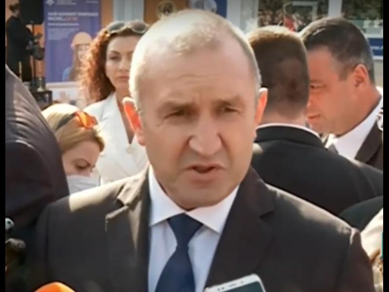 Радев: Борисов да се кандидатира за президент, да спре да ползва партията си за щит