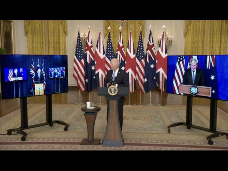 САЩ, Великобритания и Австралия договориха военно сътрудничество, което разгневи Китай