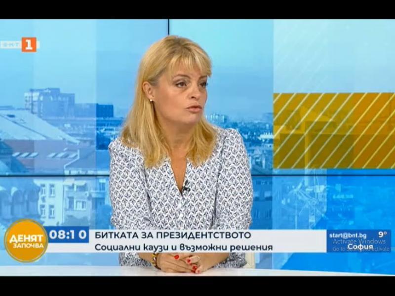 Мария Касимова: С Лозан Панов не сме партийни кандидатури